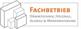 Logo: Fachbetrieb Dämmtechnik, Holzbau, Ausbau & Modernisierung