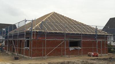 Neubau eines Wohnhauses in Müden